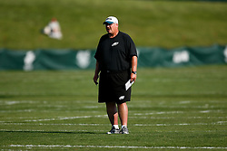 Philadelphia Eagles Head Coach Andy Reid during the Philadelphia Eagles NFL training camp in Bethlehem, Pennsylvania at Lehigh University on Saturday August 8th 2009. (Photo by Brian Garfinkel)