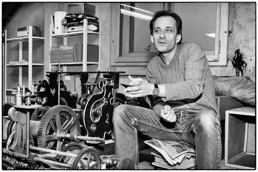 Mr. Vianney Halter, Swiss' watchmaker from Ste-Croix, Switzerland