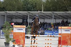 126 - Fortaleza - Brinkman Pia<br /> 4 Jarige Finale Springen<br /> KWPN Paardendagen - Ermelo 2014<br /> © Dirk Caremans