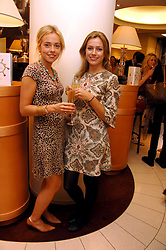 Left to right, CARA WALKER and ELEANOR SIMPSON at a party hosted by Links of London to celebrate the forthcoming Glorious Goodwood racing event held at links, Sloane Square, London on 25th July 2007.<br /><br />NON EXCLUSIVE - WORLD RIGHTS