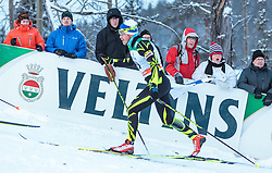 27.11.2016, Nordic Arena, Ruka, FIN, FIS Weltcup Langlauf, Nordic Opening, Kuusamo, Herren, im Bild Fans auf der Strecke // Fans on the Track during the Mens FIS Cross Country World Cup of the Nordic Opening at the Nordic Arena in Ruka, Finland on 2016/11/27. EXPA Pictures © 2016, PhotoCredit: EXPA/ JFK