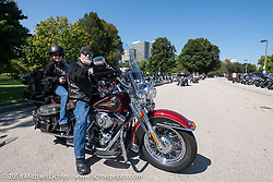 The Veterans Park free venue during the Harley-Davidson 115th Anniversary Celebration event. Milwaukee, WI. USA. Thursday August 30, 2018. Photography ©2018 Michael Lichter.