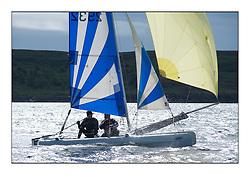 Largs Regatta Week - August 2012.Round the Island Race..Dart 16, 2932,  Cameron Gilmour, Kevin Atkins
