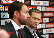 England's Dan Ashworth looks on during the press conference at Wembley Stadium, London. Picture date December 1st, 2016 Pic David Klein/Sportimage