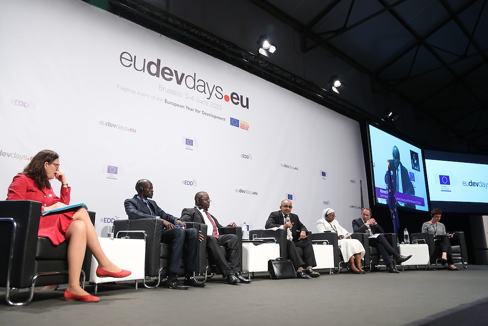 03 June 2015 - Belgium - Brussels - European Development Days - EDD - Trade - Trade for inclusive and sustainable growth © European Union