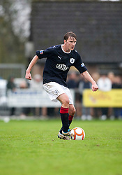 Falkirk's David Weatherston..Annan Athletic 0 v 3 Falkirk. Semi Final of the Ramsdens Cup, 9/10/2011..Pic © Michael Schofield.