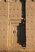 Detail from the Monoliths of Axum. Axum. Tigray Region. Ethiopia, Horn of Africa