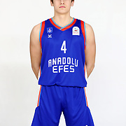 Anadolu Efes's Batikan Kagan Velioglu during the 2020-2021 Garanti BBVA BGL Media Day at the Anadolu Efes Sports Hall on February 02, 2021 in İstanbul, Turkey. Photo by Aykut AKICI/TURKPIX