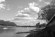 Putney, GREAT BRITAIN,   GV's around Putney Hard,  towards Putney Road Bridge, 09.04.2008 [Mandatory Credit, Peter Spurrier / Intersport-images] Rowing Course: River Thames, Championship course, Putney to Mortlake 4.25 Miles,