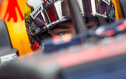 May 25, 2019 - Montecarlo, Monaco - Pierre Gasly of France and Red Bull Racing driver before the qualification session at Formula 1 Grand Prix de Monaco on May 25, 2019 in Monte Carlo, Monaco. (Credit Image: © Robert Szaniszlo/NurPhoto via ZUMA Press)