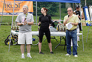 Middletown, New York - The awards ceremony after the 15th annual Ruthie Dino Marshall 5K Run and Fun Walk hosted by the Middletown YMCA o on Sunday, June 5,  2011.