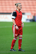 Sheffield United Ladies' Kimberley Brown warms up prior to kick off during the FA Women's Cup First Round match at Bramall Lane Stadium, Sheffield. Picture date: December 4th, 2016. Pic Clint Hughes/Sportimage