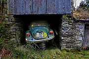AN old volkswagon car waiting to be discovered in County Kerry.<br /> Photo Don MacMonagle