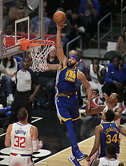 Clippers v Warriors - 30 October 2017