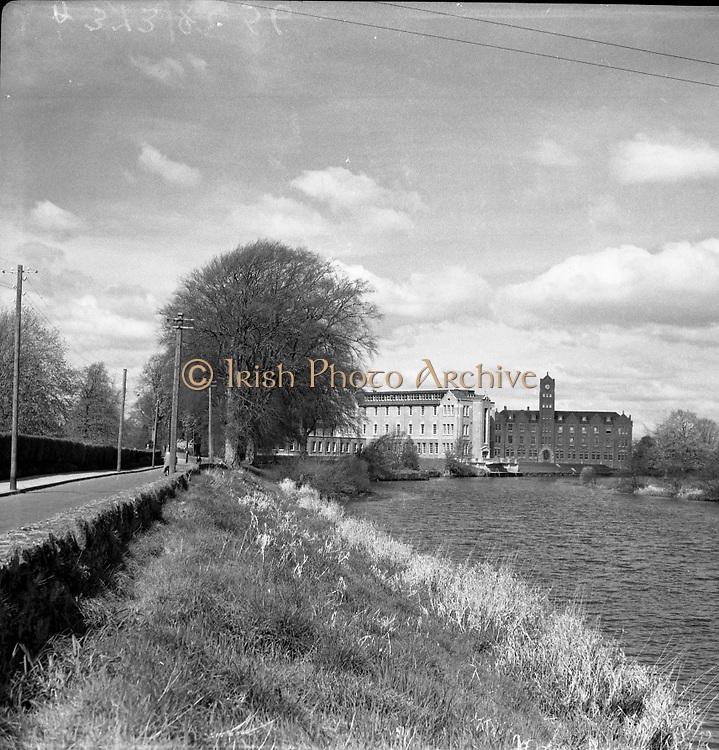 Newbridge College, Newbridge, Co. Kildare, Ireland. View of the Dominican College, Newbridge College is a voluntary fee-paying secondary school in Co. Kildare, Ireland 20/05/1957