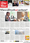October 11, 2021 - AFRICA: Front-page: Today's Newspapers In Africa