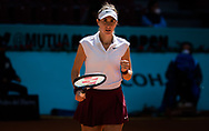 Belinda Bencic of Switzerland in action during the quarter-final match at the Mutua Madrid Open 2021, Masters 1000 tennis tournament on May 5, 2021 at La Caja Magica in Madrid, Spain - Photo Rob Prange / Spain ProSportsImages / DPPI / ProSportsImages / DPPI