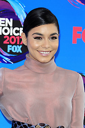 August 13, 2017 - Los Angeles, CA, USA - LOS ANGELES - AUG 13:  Vanessa Hudgens at the Teen Choice Awards 2017 at the Galen Center on August 13, 2017 in Los Angeles, CA (Credit Image: © Kay Blake via ZUMA Wire)