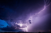 """Storm Chaser: Amazing photos that convey the awesome power and beauty of nature<br /><br />Storm chaser Mike Olbinski captures lightning, tornadoes and dramatic cloud formations in stunning images that convey the awesome power and beauty of nature.<br /><br />Photographer Mike Olbinski chases storms throughout his native Arizona and further afield, capturing lightning, tornadoes and dramatic cloud formations in images that convey the awesome power and beauty of nature. A new book, Storm Chaser, gathers 100 of his most breathtaking images. He says he had always been interested in storms and would travel thousands of miles every year, chasing the big supercells and tornadoes that appear on the central plains of the United States each spring. """"But in 2011 my life changed,"""" he says, """"On 5 July I received a text with a photo of a dust storm rolling into the Phoenix area from the southeast. The day before I had just started practising time lapse photography and when I heard about a dust storm heading my way, I grabbed my gear and headed to a parking garage down the street. I thought that a time-lapse of a dust storm over the city would really give people an idea of how large these things can be.<br /><br />""""As I pulled up to the top of the parking garage, my jaw dropped. The sky before me was unlike anything I'd ever seen. A massive wall of dust was headed my way. Not the normal dust storms you tend to see out here. No, this was like the end of the world. The wall was dense, thick and as tall as the clouds. It looked like a scene from the movie Independence Day. The National Weather Service would later say it was over 100 miles wide and a mile high.""""  The most amazing moment though for me was the day when I received a phone call from Al Gore's office, asking if they could use the footage in their climate change presentations. I was absolutely blown away.<br />mikes book is out now """"Storm Chaser by Mike Olbinksi"""", published by Pen & Sword Books.<br /><br />Photo shows: A c"""