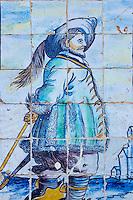 Portugal, Lisbonne, Palacio dos Marqueses de Fronteira, azulejos // Portugal, Lisbon, Palacio dos Marqueses de Fronteira, azulejos ceramics tiles