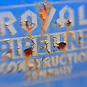 Royal Pipeline Construction Company - Motor Transport Museum - Campo, CA - Lensbaby