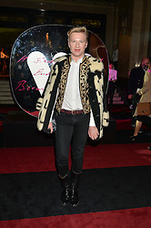 HENRY CONWAY at the Warner Music Brit Party held at the Freemason's Hall, 60 Great Queen Street, London on 25th February 2015.