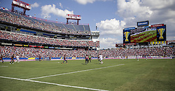 July 8, 2017 - Nashville, TN, USA - Nashville, TN - Saturday July 08, 2017: USMNT vs Panama during a 2017 Gold Cup match between the men's national teams of the United States (USA) and Panama (PAN) at Nissan Stadium. (Credit Image: © John Dorton/ISIPhotos via ZUMA Wire)