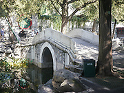 Arched Bridge Summer Palace Beijing China built by Empress Cixi
