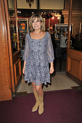 PENNY SMITH at the opening night of Totem by Cirque du Soleil held at The Royal Albert Hall, London on 5th January 2011.