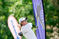 Gregor Slabe of Slovenia during Slovenia Long Drivers European Tour  Championship on July 5, 2014 in  Golf Arboretum Ljubljana, Volcji Potok, Slovenia. Photo By Vid Ponikvar / Sportida