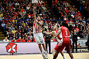DESCRIZIONE : Milano Euroleague 2015-16 EA7 Emporio Armani Milano - Olympiacos Piraeus<br /> GIOCATORE : Georgios Printezis<br /> CATEGORIA : tiro<br /> SQUADRA : Olympiacos Piraeus<br /> EVENTO : Euroleague 2015-2016<br /> GARA : EA7 Emporio Armani Milano - Olympiacos Piraeus<br /> DATA : 30/10/2015<br /> SPORT : Pallacanestro<br /> AUTORE : Agenzia Ciamillo-Castoria/Max.Ceretti<br /> Galleria : Euroleague 2015-2016 <br /> Fotonotizia: Milano Euroleague 2015-16 EA7 Emporio Armani Milano - Olympiacos Piraeus