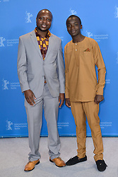William Kamkwamba and Maxwell Simba attending The Boy Who Harnessed The Wind Photocall as part of the 69th Berlin International Film Festival (Berlinale) in Berlin, Germany on February 12, 2019. Photo by Aurore Marechal/ABACAPRESS.COM