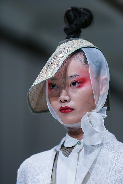 Ji Cheng show during London Fashion Week, Spring/Summer 2013