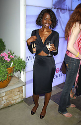 JUNE SARPONG at Michele Watches Kaleidoscope Summer Garden Party held at Home House, Portman Square, London on 15th June 2005.<br /><br />NON EXCLUSIVE - WORLD RIGHTS