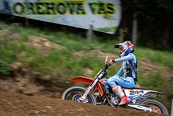 Pajk Rožle during Slovenian Championship in Motocross, on June 2nd, 2019 in Orehova Vas, Slovenia. Photo by Blaž Weindorfer / Sportida