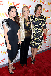 September 29, 2016 - New York, New York, USA - Salma Hayek, Gloria Steinem and Mariska Hargitay attend The Women's Media Center 2016 Women's Media Awards at Capitale on September 29, 2016 in New York City. (Credit Image: © Future-Image via ZUMA Press)