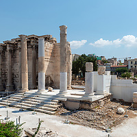 Library of Hadrian - Athens - Greece