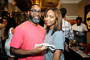 Philadelphia - 2015-Armour men's clothing store, 704 S. 4th street. Malcolm Jenkins co-hosts an exclusive summer Designer Showcase featuring his fashion-forward bow tie company, Rock Avenue