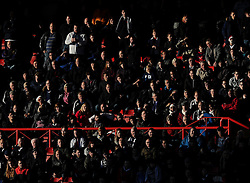 Telford Fans  - Photo mandatory by-line: Joe Meredith/JMP - Mobile: 07966 386802 - 07/12/2014 - SPORT - Football - Bristol - Ashton Gate - Bristol City v AFC Telford United - FA Cup