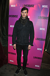 JUSTIN CHILDS at a party tocelebrate the launch of Diesel's new female fragrance 'Loverdose' held at The Box, 11-12 Walkers Court, Brewer Street, London on 7th September 2011.