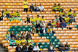 General view inside the stadium at Carrow Road as fans return as part of a pilot event following the coronavirus pandemic  - Mandatory by-line: Phil Chaplin/JMP - 19/09/2020 - FOOTBALL - Carrow Road - Norwich, England - Norwich City v Preston North End - Sky Bet Championship