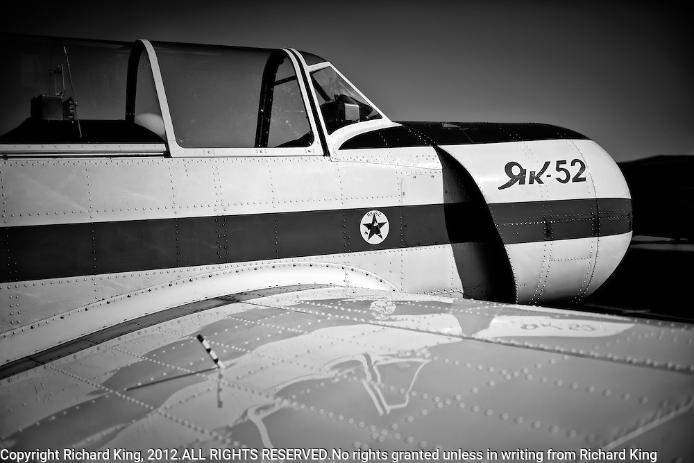 Yak-52 on static disply