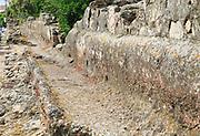 Roman era water trough system, Merida, Extremadura, Spain