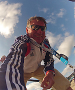Munich, GERMANY,   GBR Chief Coach Jurgen GROBLER. 2012 World Cup III on the Munich Olympic Rowing Course,  Thursday  14/06/2012  [Mandatory Credit Peter Spurrier/ Intersport Images]..