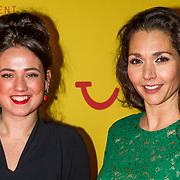 NLD/Hilversum/20190211- Verliefd op Cuba premiere, Marissa Coster en Myriam Manders