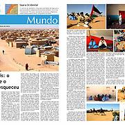 """Saharauis: o povo que o mundo esqueceu"" in Cipreste"