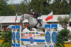 Crippen Simon - Wembley III<br /> World Championship Young Horses Lanaken 2008<br /> Photo Copyright Hippo Foto