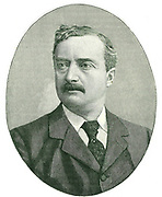 John Edward Redmond (1856-1918) Irish politician known as 'The Irish Petrel'.  A champion of Home Rule, he became chairman of the Nationalist party in 1900. Engraving c1900.