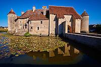 France, Cher (18), Berry, Chateau de Sagonne, classé monument historique, route Jacques Coeur // France, Cher (18), Berry, Chateau de Sagonne castle, approved historical monument, the Jacques Coeur road