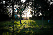 """Sunset through a farm gateway, Wexford. This mage can be licensed via Millennium Images. Contact me for more details, or email mail@milim.com For prints, contact me, or click """"add to cart"""" to some standard print options."""